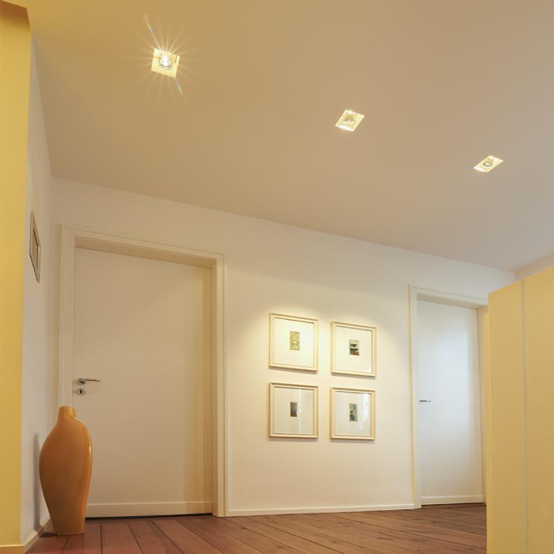 Con Doppia Penisola E Controsoffittatura Interior Design : Idee parete ...